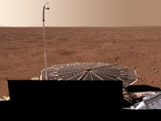 Mars as seen by Phoenix Mars Lander
