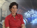 Fabiola Gianotti and LHC